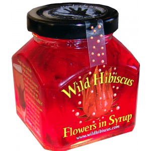 Wild Hibiscus Flowers in Syrup - 12 x 250g