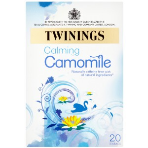 Camomile, teabags - 4 x 20s