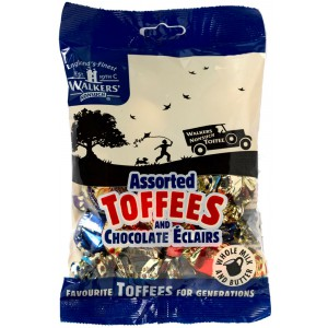 Assorted Royal Toffees, bag - 12 x 150g