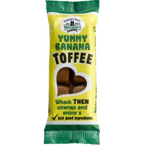 Yummy Banana Toffee Bar - 24 x 50g