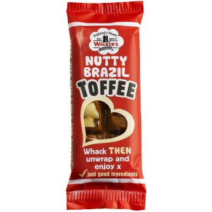 Nutty Brazil Toffee Bar - 24 x 50g