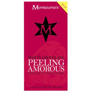 Peeling Amorous - white Chocolate with Lemon Zest & Sour Cherry - 12 x 100g