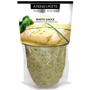 White Sauce with Parsley and Lemon Zest  - 6 x 350g