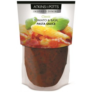 Tomato and Basil, pouch - 6 x 350g