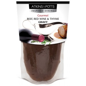 Beef Gravy with Red Wine & Thyme - 6 x 350g
