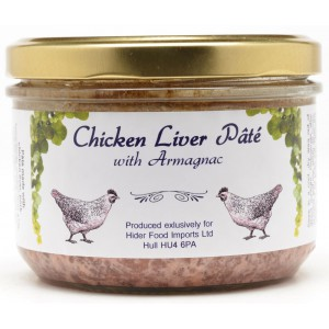 Chicken Liver Pate with Armagnac  - 6 x 180g
