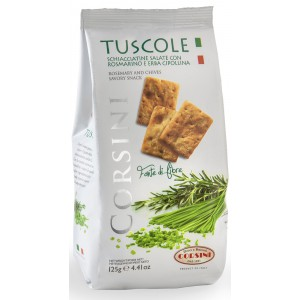 Rosemary & Chive Savoury Biscuits - 18 x 125g