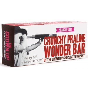Crunchy Praline Wonder Bar - 12 x 70g