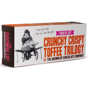 Crunchy Crispy Toffee Trilogy Bar - 12 x 70g