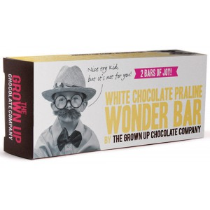 White Chocolate Praline Wonder Bar - 12 x 65g