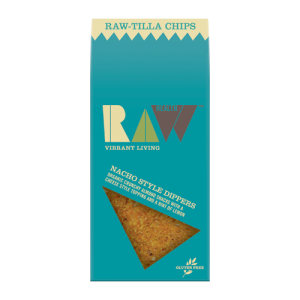Raw Health -Raw-Tilla Chips - Nacho  style Dippers Organic - 8x70g