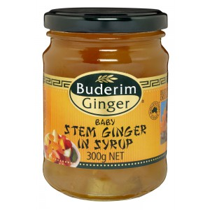 Stem Ginger in Syrup - 12 x 300g