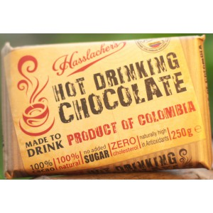 Solid Bar Columbian Drinking Chocolate - 19 x 250g