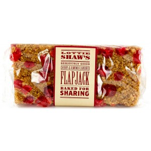 Cherry & Almond Flapjack (3 months shelf life from production) - 6 x 300g