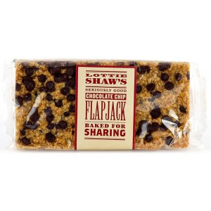 Chocolate Chip Flapjack (3 months shelf life from production) - 6 x 300g