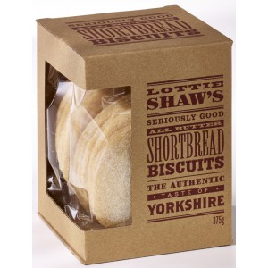 All Butter Shortbread Biscuits (3 months shelf life from production) - 6 x 375g