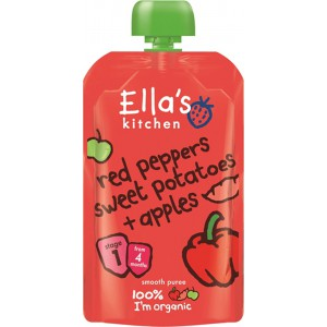 Red Peppers, Sweet Potatoes & Apples - 7 x 120g