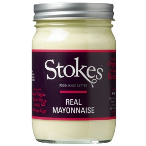 Real Mayonnaise with Ex Virgin Olive Oil, gluten free - 6 x 345g
