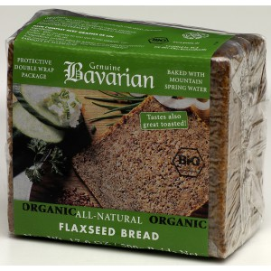 Organic Flaxseed Bread, Kosher - 12 x 500g