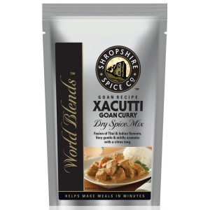 Xacutti Goan Curry Dry Spice Mix - 10 x 40g