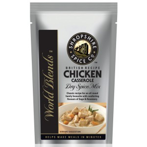 Chicken Casserole Dry Spice Mix - 10 x 40g