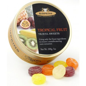 Tropical Fruit, tin - 6 x 200g