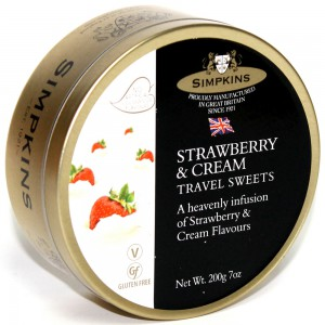 Strawberry & Cream, tin - 6 x 200g