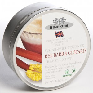 Rhubarb & Custard, tin - 6 x 175g