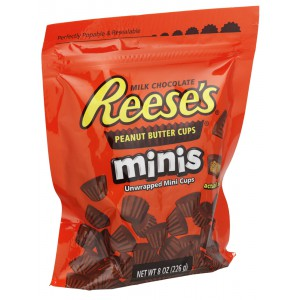 Reese's Mini Peanut Butter Cups, Pouch - 12 x 226g