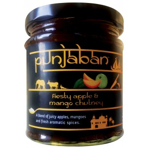 Fiesty Apple & Mango Chutney - 6 x 225g
