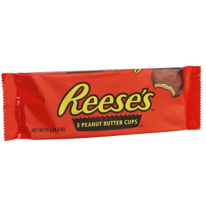 Reeses Cups (3 cups) - 40 x 3s
