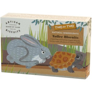 The Hare & The Tortoise, Toffee - 12 x 100g