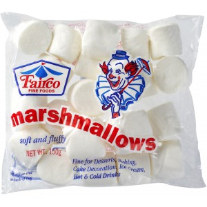 Standard Marshmallows, White - 24 x 150g