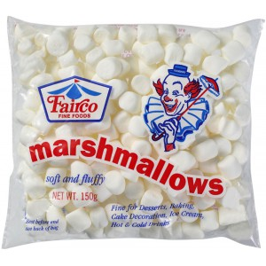 Mini Marshmallows, White - 24 x 150g
