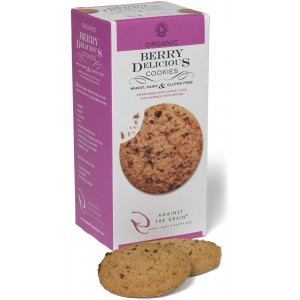 Organic Berry Delicious Cookies - 6 x 150g