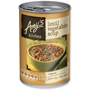 Organic Lentil Vegetable Soup, Gluten Free - 6 x 400g