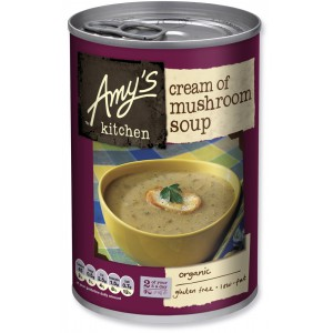 Organic Cream of Mushroom Soup, Gluten Free - 6 x 400g