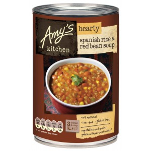 Hearty Spanish Rice & Red Bean Soup, Gluten Free - 6 x 416g