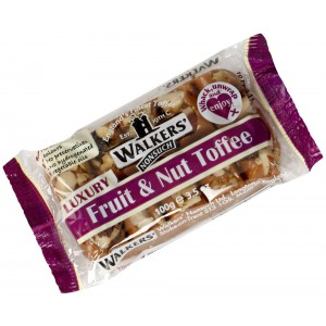 Fruit & Nut Toffee, bar - 10 x 100g