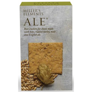 Miller's Ale Crackers - 12 x 100g