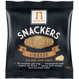 Snackers, Cheese - 20 x 23g