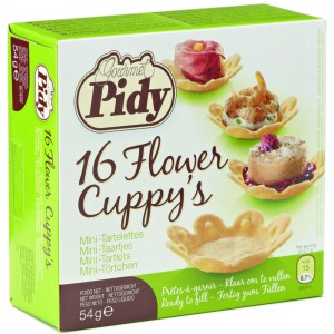 16 Flower Cuppy's - 16 x 54g