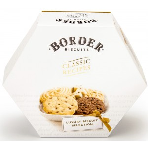 Scottish Biscuits Selection Gift, Hexagonal - 6 x 500g