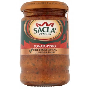 Free From Sundried Tomato Pesto - 6 x 190g