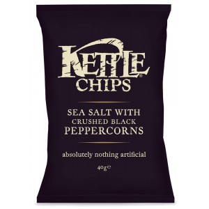 Sea Salt with Crushed Black Pepper - 18 x 40g