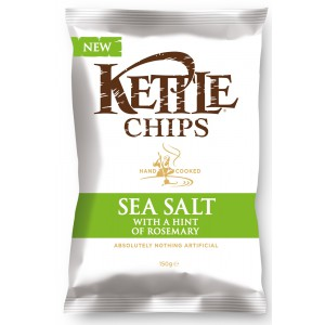 Sea Salt with a hint of Rosemary - 8 x 150g