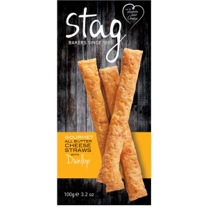 Cheese Straws with Dunlop - 6 x 100g