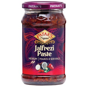 Jalfrezi Paste, jar - 6 x 283g
