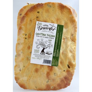 Ghiottina Toscana, Sharing Flatbread with Olives - 15 x 150g