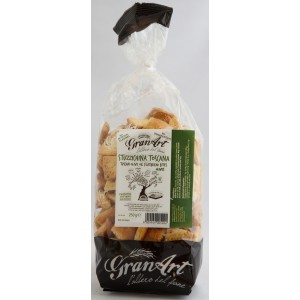 Stuzzichina Toscana, Flatbread Bites with Olives - 9 x 250g